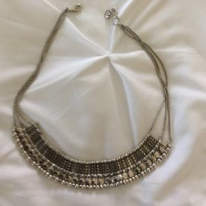 Bass Jewelry - Silver Tone Necklace